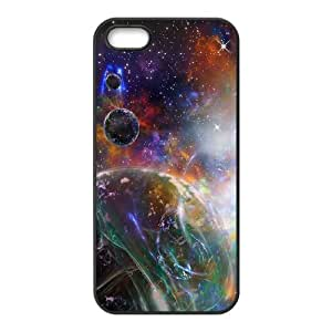 YCHZH Phone case Of Colorful Space Nebula Cover Case For iPhone 5,5S