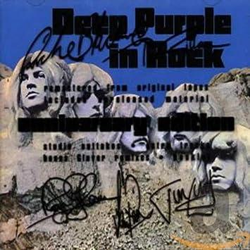 Deep Purple 9 Photo Rock Band Print Heavy Metal Black and White Music Poster