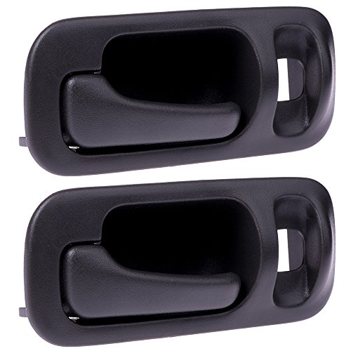 SCITOO Door Handles Interior Rear Left Side fit 1992-1995 Honda Civic Gray(2pcs) by SCITOO (Image #4)
