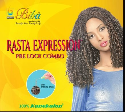 Biba Rasta Expression Pre Lock Combo (#1B(Off Black)) ()