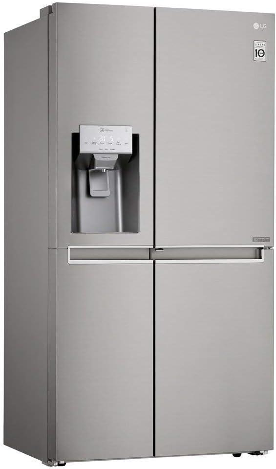 Refrigerador LG Side By Side New Lancaster 601L Door In Door Aço Escovado 110V GS65SDN por LG