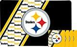 Duck House NFL Pittsburgh Steelers Placemat & Coaster Set