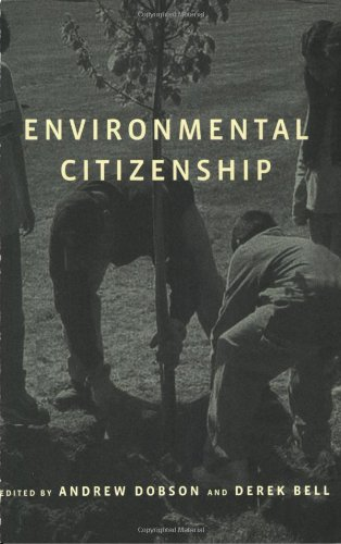 Environmental Citizenship (MIT Press)