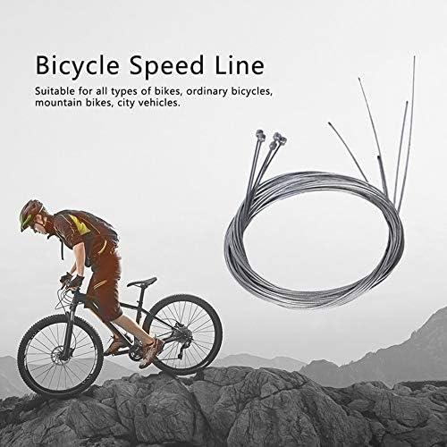 laonBonnie 5 st/ücke Rennrad MTB Fixed Gear Fahrrad Bremsleitung Shift Shifter Gang Bremskabel Sets Core Inner Shifting Draht Stahl Speed /â/€/‹/â/€/‹Line-Silber