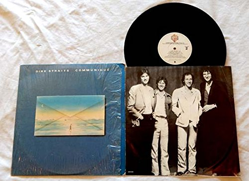 Dire Straits - Dire Straits Lp Communique - Warner Brothers Records 1979 - In Shrink Wrap -