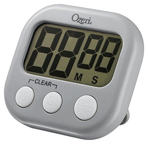 Ozeri KT1-GR Event Kitchen Timer, Gray