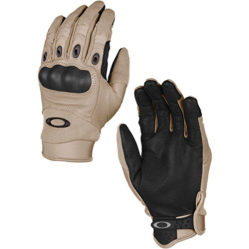 Oakley Mens Factory Pilot Glove, New Khaki, Large (Oakley Piloten)