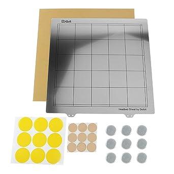 Impresora ULTECHNOVO Plataforma de cama con calefacción y lámina ...