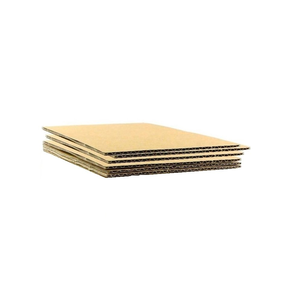 200 pack Corrugated Cardboard Sheets Shipping Cushioning Pads 1//8 Thick HGP 9 x 12
