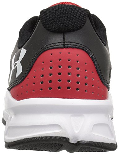 Under Armour Zone 2 Sneaker - black w red back