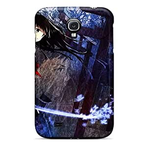 New Style Tpu S4 Protective Case Cover/ Galaxy Case - C Blood