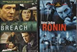 Ronin , Breach : Spy Movie 2 Pack Collection