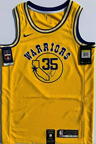 Kevin Durant Autographed Signed Nike Golden State Warriors Basketball Jersey Memorabilia PSA/DNA Champs - Certified Signature