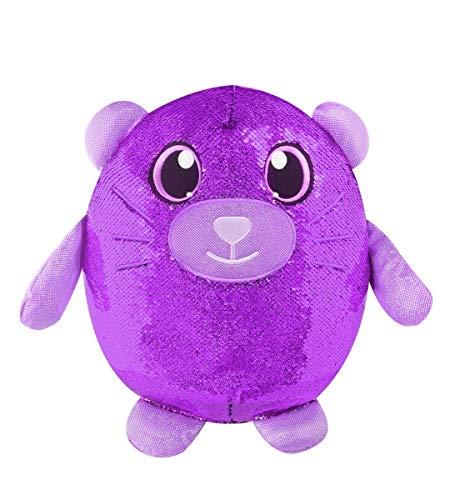 (SHIMMEEZ, Large Size Cristy Cat, Sequin Plush Stuffed Animal, Multicolor,)