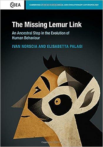 Donde Descargar Libros En The Missing Lemur Link: An Ancestral Step In The Evolution Of Human Behaviour Novelas PDF
