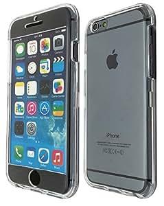 iphone 6 plus 13,97 cm Full carcasa rígida de plástico con tapa delantera y trasera con carcasa Full Case + Screen