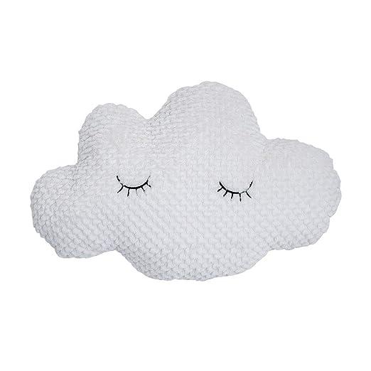 Bloomingville Suave Cojín en Forma de Nube para Dormir ...