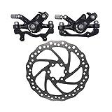 ZOOM Genuine 160mm Disc Brakes Mountain F160/R160 Bike Mechanical Calipers Set