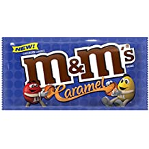 M&M's Caramel Chocolate Candy Singles Size, 1.41 oz