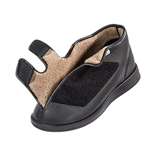 Chaussures Velcro Pays De Galles  - Noir - Noir, 44