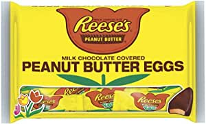 Reese's Easter Peanut Butter Eggs, Snack Size, 11.4-Ounce Bags (Pack of 4)