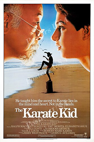 Posters USA - Karate Kid Original Movie Poster GLOSSY FINISH - MOV773 (24