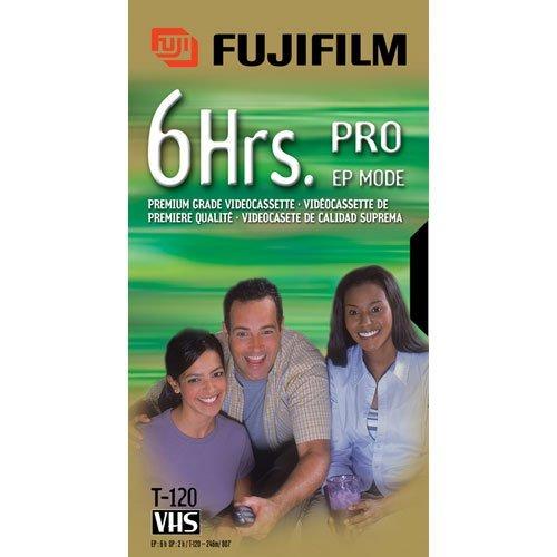 FUJI PRO-T120 VHS Video Cassette 120 Minutes by Fuji
