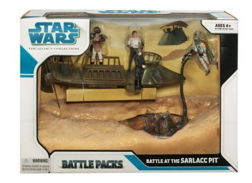 - Star Wars Saga 2008 The Legacy Collection Exclusive Boxed Set Battle At The Sarlacc Pit