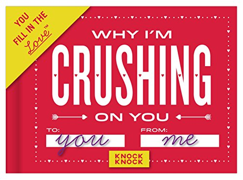 Christmas Gift For Your Crush - Knock Knock Why I'm Crushing on You Fill in the Love Journal (50088)