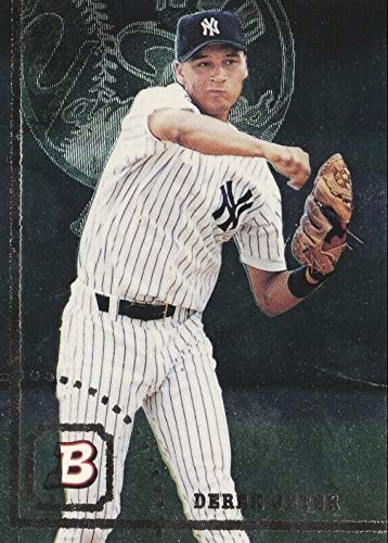 Foil Card Rookie - 1994 Bowman FOIL - Derek Jeter - New York Yankees Baseball Rookie Card RC #376
