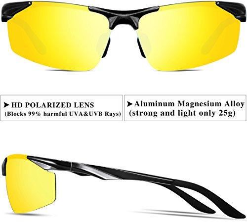 Al Deportes Polarizado De Súper Night Metal Ligero Marco For Hombre Mg Gafas De Only ATTCL Sol Vision Uv400 cFxW05nBUf