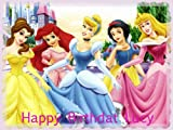 Disney Princesses Edible Cake Toppers Edible Image Cake Toppers Frosting Sheets
