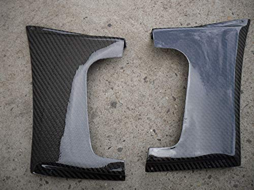 Mudguards Front Fender Addons (pair) Varis Style For Lancer Evolution Evo 7 8 9 Carbon Fiber