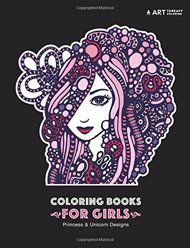 Coloring Books Girls Zendoodle Relaxation product image