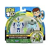 Ben 10 Alien Creation Figures 2 Pack (Shock Rock, Stinkfly), Multi