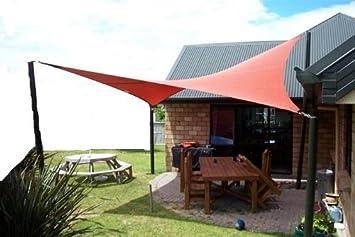 Elegant Petrau0027s 20 Ft. X 13 Ft. Rectangle Terracotta Sun Sail Shade. Durable Woven