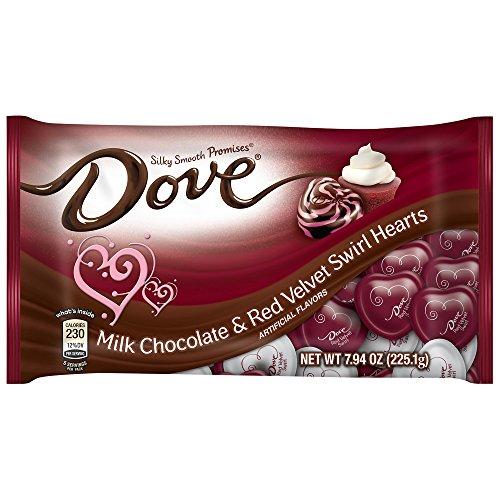 Dove Chocolate Velvet Swirl Valentines
