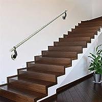 50-400cm Pasamanos de escaleras de Acero Inoxidable para Interiores y Exteriores, pasamanos Antideslizantes de Seguridad para niños discapacitados de Alto Grado, pasamanos de escaleras de jardín de: Amazon.es: Hogar