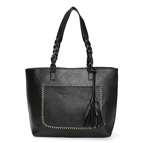 OURBAG-Women-Vintage-PU-Leather-Tote-Shoulder-Bag-Handbag-Big-Large-Capacity