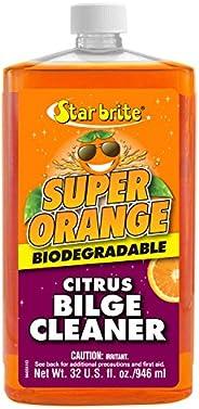 Star brite Super Orange Citrus Bilge Cleaner - Biodegradable, 32oz Quart