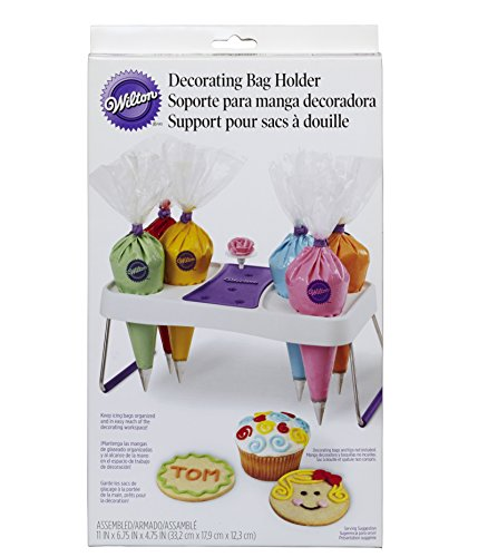Wilton Decorate Smart Decorating Bag Holder, Cake Decorating Supplies