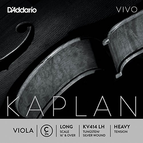 D'Addario KV414 LH Kaplan Vivo Viola C String by D'Addario Woodwinds