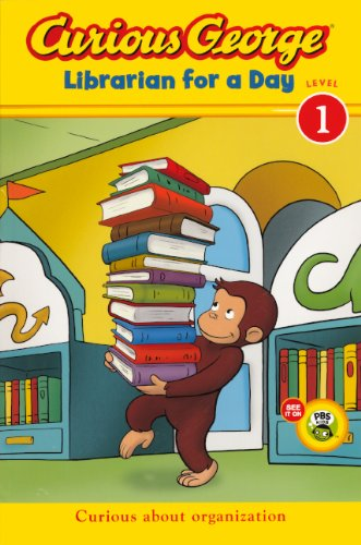 Curious George: Librarian For A Day (Turtleback School & Library Binding Edition) (Curious George: Level 1) PDF ePub fb2 book