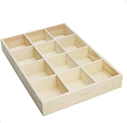 RUBY-Organizador Caja de almacenamineto Madera para joyerias ...
