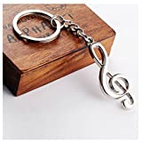 Music Best Deals - GOOTRADES Musical Note Key Ring Keyfob Keyring Music Symbol Keychain