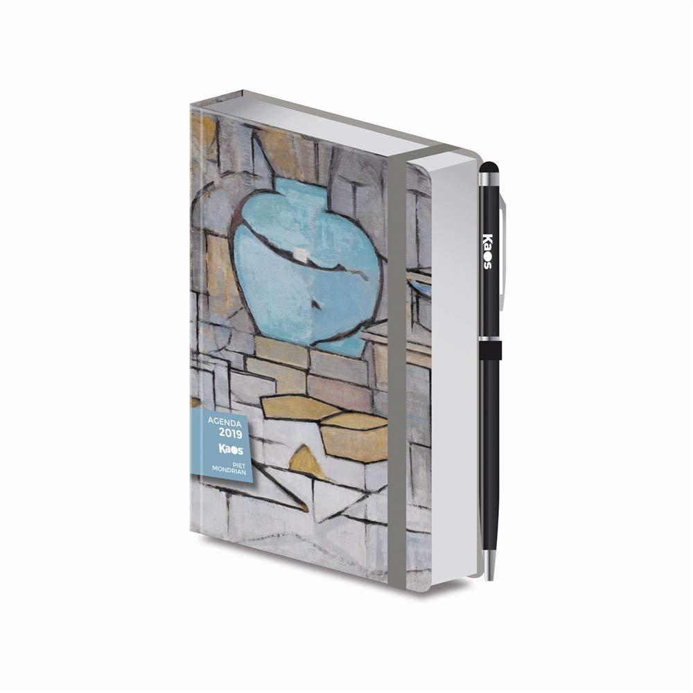 Agenda Kaos 2019 diaria Pocket 14,5 X 9,5 Mondrian ...