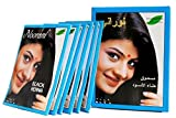 Noorani Black Henna for Hair 6 X 10 Gms/Box (Pack of 10 Boxes)