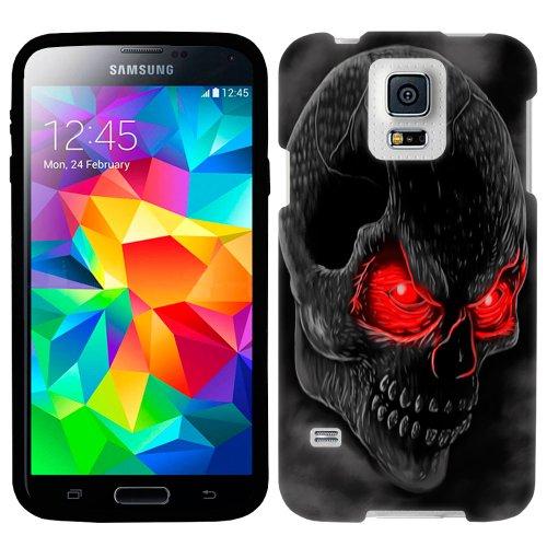 Samsung Galaxy S5 Red Eye Skull Firm Case