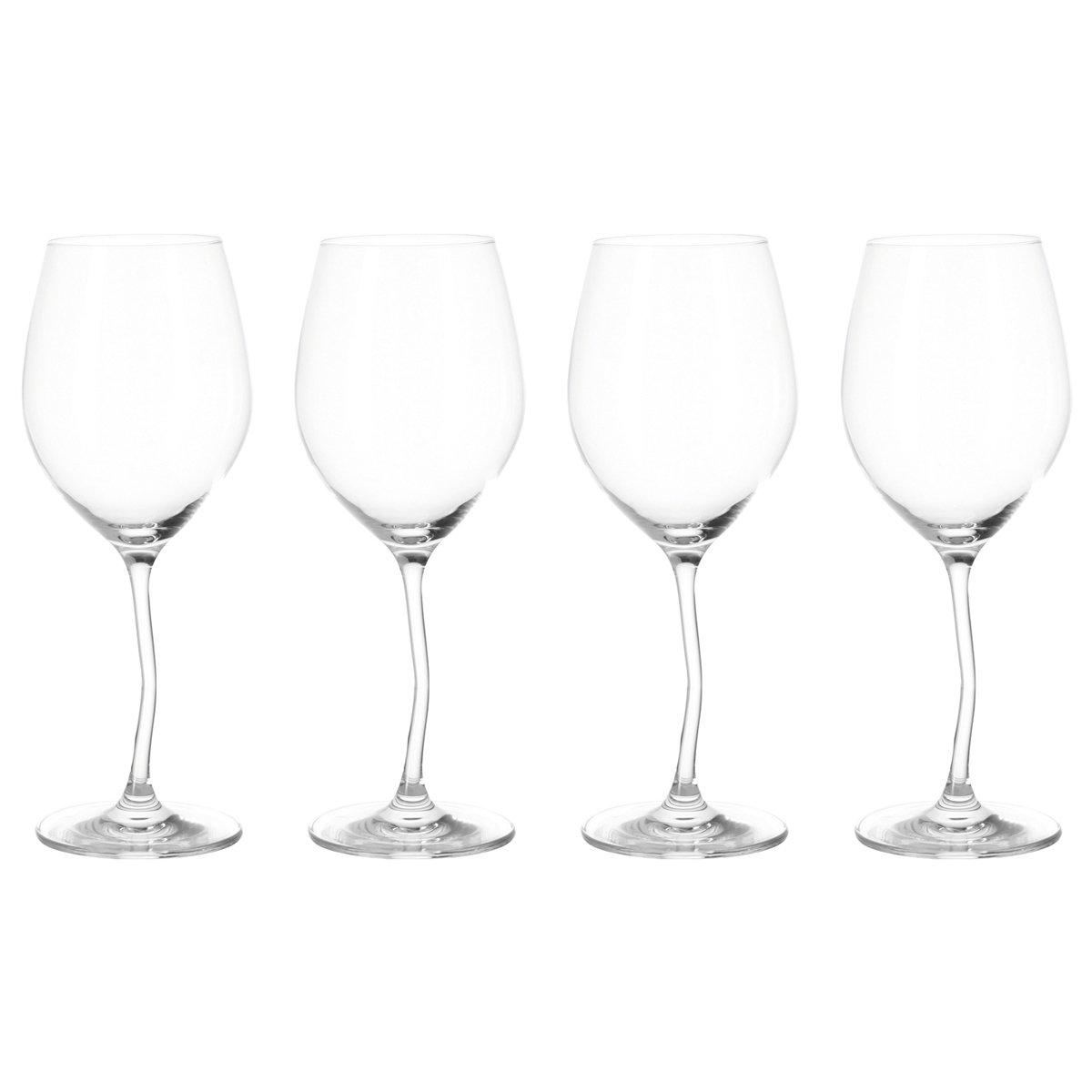 Leonardo 017171 Modella Set de 4 Verres /à Vin Transparent