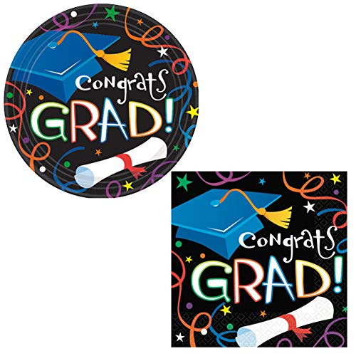 Graduation Party Supplies Pack for Girls Boys Adults - (32) 9